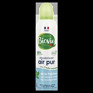 Spray désodorisant air frais Biovie