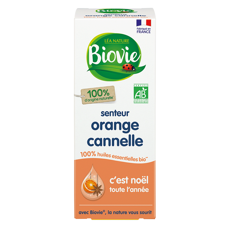 Senteur orange cannelle